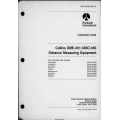 Collins DME-451-450C-450 DME 451 450C 450 Installation and Maintenance Manuals  523-0767563-00311A $9.95