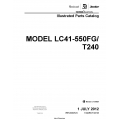 Cessna Model LC41-550FG/T240 Illustrated Parts Catalog T240PC06 $29.95