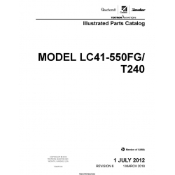 Cessna Model LC41-550FG/T240 Illustrated Parts Catalog T240PC06