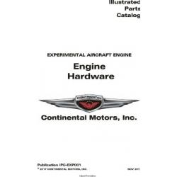 Continental IPC-EXP001 Engine Hardware Illustrated Parts Catalog $19.95