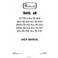 Beechcraft 95-B-D-E Travel Air Shop Manual $19.95