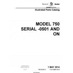 Cessna Model 750 (Serial -0501 AND ON) Illustrated Parts Catalog 75PCC09 $35.95