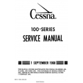 Cessna 100 series Service Manual 1968 $19.95