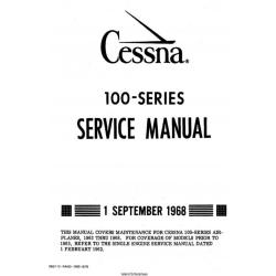 Cessna 100 series Service Manual 1968 $19.95