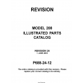 Cessna Model 208 Illustrated Parts Catalog P688-24-12 $29.95