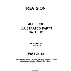Cessna Model 208 Illustrated Parts Catalog P688-24-12