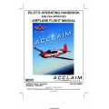 Mooney M20V Acclaim Ultra Pilot's Operating Handbook $29.95