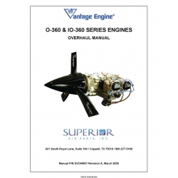 Lycoming O-360 & IO-360 Series Engine Overhaul Manual SVOHM01
