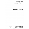 Cessna Model S550 Illustrated Parts Catalog S55PC13 $29.95