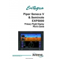 Avidyne Piper Seneca V & Seminole  EXP5000 Primary Flight Display Pilot's Guide 600-00104-003 $9.95