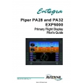 Avidyne Piper PA28, PA32, EXP5000 Primary Flight Display Pilot's Guide 600-00143-000 $9.95