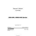 Lycoming IGO-540, IGSO-540 Series Operator's Manual 60297-15 $13.95