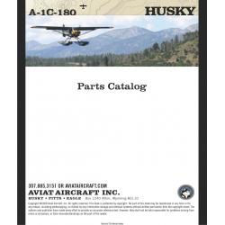 Aviat Husky A-1C-180 Parts Catalog $13.95
