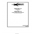 Century 41 Autopilot and Flight Director Pilot's Operating Handbook 68S803 $9.95