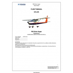 Tecnam P92 US-LSA Echo Super Flight Manual/POH 2007