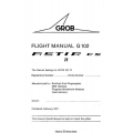 Grob Astir CS 77 Flight Manual/POH G 102 1977 $2.95