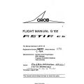 Grob G102 Flight Manual/POH  Astir CS 4.95