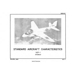 Grumman A2F-1 Standard Aircraft Characteristics 1960 $2.95