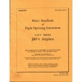 Grumman JRF-5 Airplane Navaer 01-85VF-1 G-21 Pilot's Handbook of Flight Operating Instructions