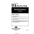 Gulfstream Commander 112 B/TC/TCA Maintenance Manual 1977 - 1980 $13.95