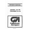 Gulfstream AA-1B Trainer & Tr2 Owner's Manual 1979 $13.95