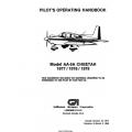 Gulfstream AA-5A Cheetah 1977/1978/1979 Pilot's Operating Handbook