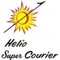 Helio Super Courier Aircraft Logo,Decals!