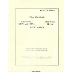 Piasecki HUP-1, HUP-2 & H-25A Retriever Helicopters Flight Handbook