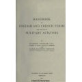Handbook of English and French Terms for the Use of Military Aviators