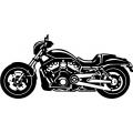 """Image of Harley VRSC Decal/Sticker! 12"""" wide!"""