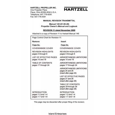Hartzell manual no. 115n