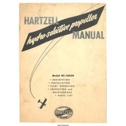 Hartzell  hydro-selective propeller Manual 1948
