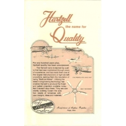 Hartzell Owner's Manual Propeller Overview