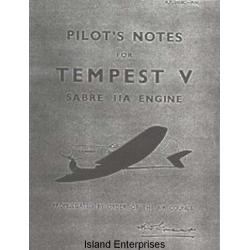 Hawker Tempest V Sabre IIA Engine Pilot's Notes