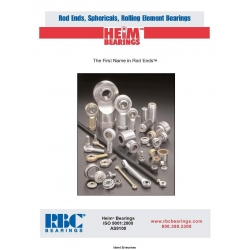 Heims Bearing Rod End Catalog $4.95