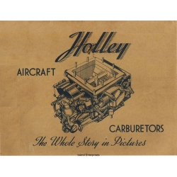 Holley Aircraft Carburetors Slide Film Review Book 1943 $4.95