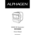Honda Alphagen DCX3000 36/48V DC Generator Owner's Manual 2004 $9.95