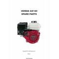 Honda GX120 Spare Parts Manual 2011 $4.95