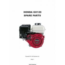 Honda GX120 Spare Parts Manual 2011