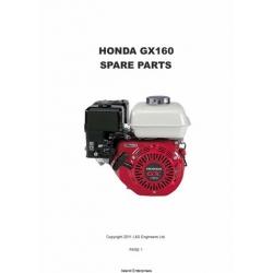 Honda GX160 Spare Parts Manual 2011