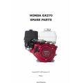 Honda GX270 Spare Parts Manual 2011 $4.95