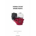 Honda GX390 Spare Parts Manual 2011 $4.95