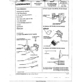 Honda Goldwing Clarion Type I Radio Installation Manual 1980 $9.95
