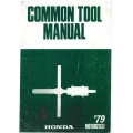 Honda Goldwing Motorcycle Common Tool Manual 1979 $5.95