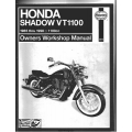 Honda Shadow VT1100 Motorcycle Owners Workshop Manual 1985 thru 1998 $13.95