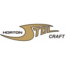 Horton Stol Craft Aircraft Decal/Sticker 2 1/2''high x 14 3/8''wide!