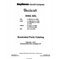 Beechcraft King Air C90-C90A-C90GT-E90 Illustrated Parts Catalog 90-590012-17H $29.95