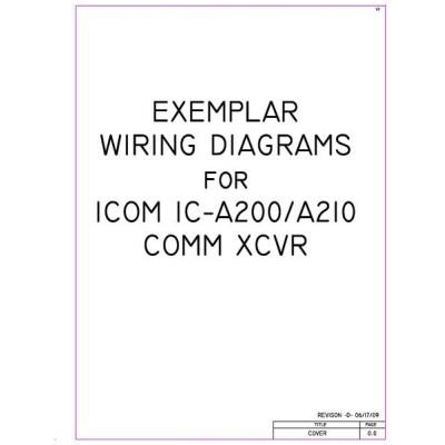 Icom IC A200 A210 Comm XCVR Exemplar WD 400x400 icom ic a200 a210 comm xcvr exemplar wiring diagrams $4 95 icom a200 wiring diagram at bayanpartner.co