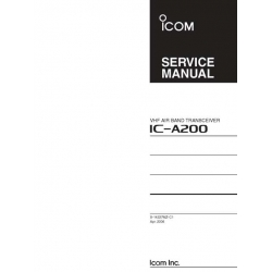 Icom IC-A200 Service Manual $4.95