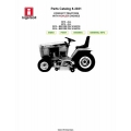 Ingersoll 3010, 3012, 3014, 4014 Compact Tractors with Kohler Engines Parts Catalog 8-3031